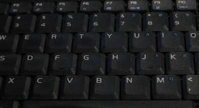 Keyboard access to a computer